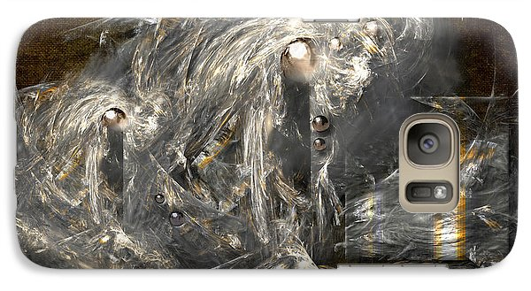 Galaxy Case featuring the painting Light Energy Power Station by Alexa Szlavics