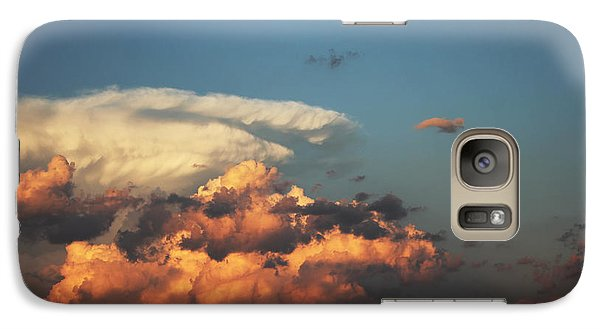 Galaxy Case featuring the photograph Powerful Cloud by Ryan Crouse