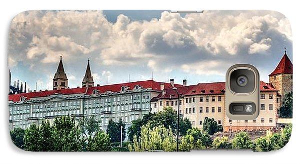 Galaxy Case featuring the photograph Prague Castle by Joe  Ng