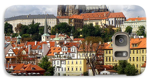 Galaxy Case featuring the photograph Prague Skyline by Ira Shander