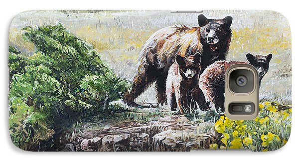 Prairie Black Bears Galaxy S7 Case