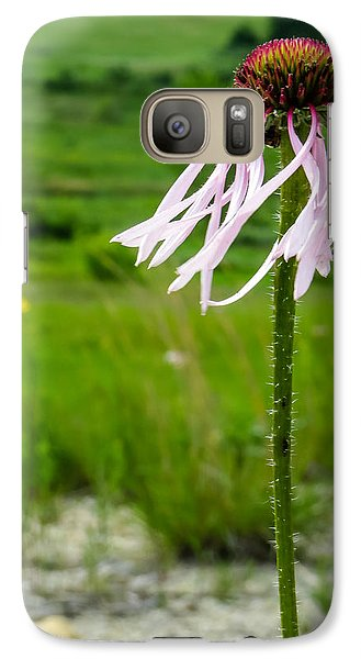 Galaxy Case featuring the photograph Prairie Breeze by Beverly Parks