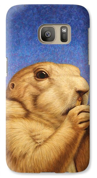 Galaxy S7 Case - Prairie Dog by James W Johnson