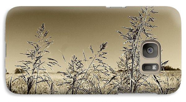 Galaxy Case featuring the photograph Prairie Grass by Ellen O'Reilly