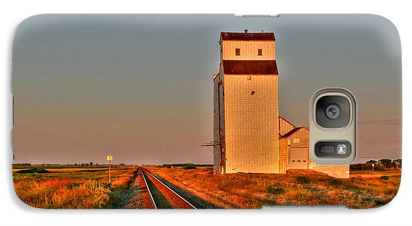 Galaxy Case featuring the photograph Prairie Meadows by Larry Trupp