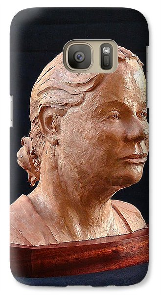 Galaxy Case featuring the painting Prairie Woman by Dan Redmon