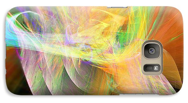 Galaxy Case featuring the digital art Praise by Margie Chapman