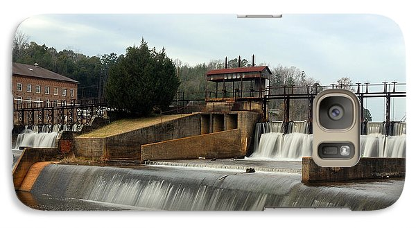 Galaxy Case featuring the photograph Prattville Dam Prattville Alabama by Charles Beeler