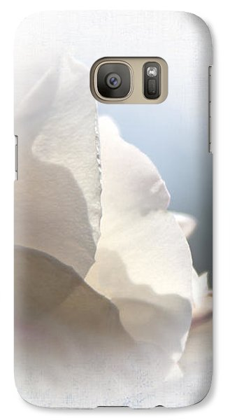 Galaxy Case featuring the photograph Pray For Love by Jean OKeeffe Macro Abundance Art