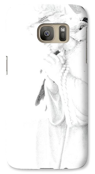 Galaxy Case featuring the photograph Pray by Linda Shafer