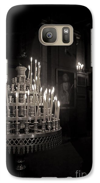 Galaxy Case featuring the photograph Prayer Candles by Aiolos Greek Collections