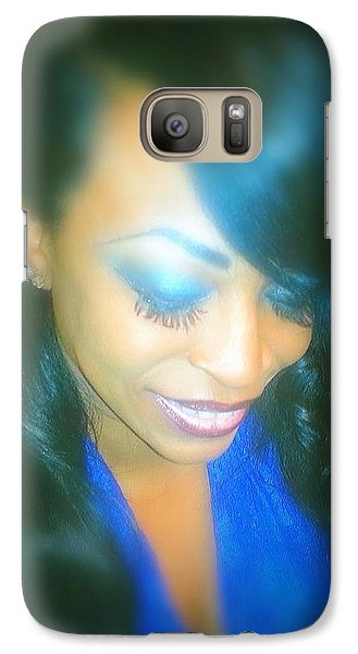 Galaxy Case featuring the photograph Prayer Changes Things by Joetta Beauford