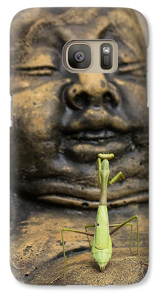 Galaxy Case featuring the photograph Praying by Patricia Schaefer