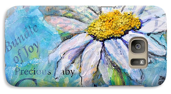 Galaxy Case featuring the painting Precious Baby Creation by Lisa Fiedler Jaworski