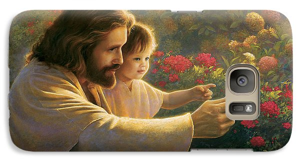 Butterfly Galaxy S7 Case - Precious In His Sight by Greg Olsen