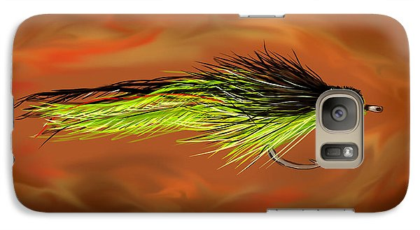 Galaxy Case featuring the painting Predator Pounder by Jean Pacheco Ravinski