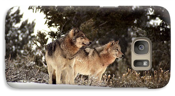 Galaxy Case featuring the photograph Predators by Sharon Elliott