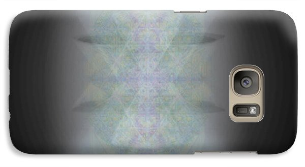 Galaxy Case featuring the digital art Predawn Chalice Still All One by Christopher Pringer
