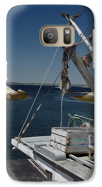 Galaxy Case featuring the digital art Prep Work by Kelvin Booker