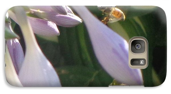 Galaxy Case featuring the photograph Preparing To Land by Christina Verdgeline