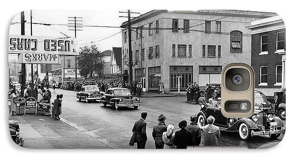 Pres. Roosevelt's Motorcade 1944 Galaxy S7 Case