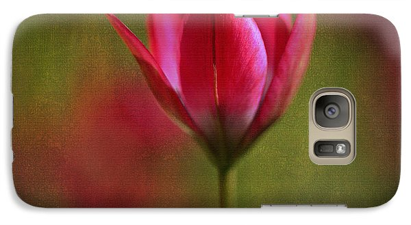 Galaxy Case featuring the photograph Presence by Annie Snel