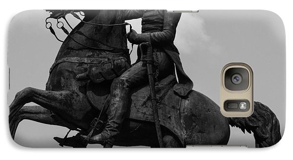 Galaxy Case featuring the photograph President Andrew Jackson Statue by Robert Hebert