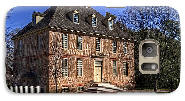 Galaxy Case featuring the photograph President's House College Of William And Mary by Jerry Gammon