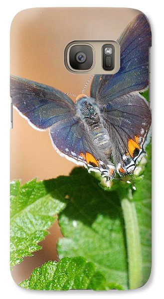 Galaxy Case featuring the photograph Pretty As A Flower by Kathy Gibbons