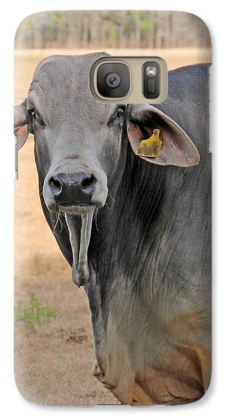 Galaxy Case featuring the photograph Pretty Brahma by Dodie Ulery