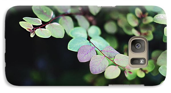 Galaxy Case featuring the photograph Pretty In Green by Heather Green