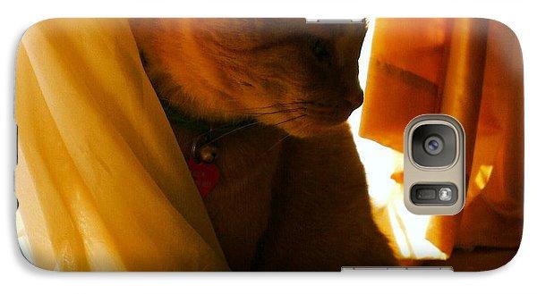 Pretty In Orange Galaxy S7 Case