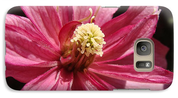 Galaxy Case featuring the photograph Pretty In Pink by Cheryl Hoyle