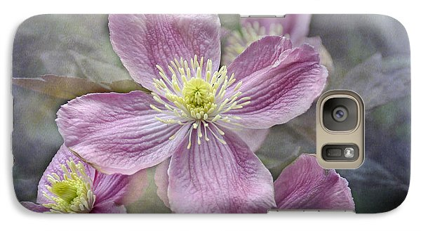Galaxy Case featuring the photograph Pretty In Pink by Geraldine Alexander