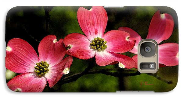 Galaxy Case featuring the photograph Pretty In Pink by James C Thomas