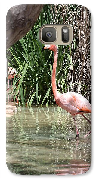 Galaxy Case featuring the photograph Pretty In Pink by John Telfer
