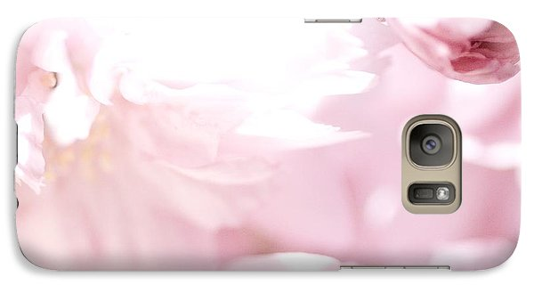 Galaxy Case featuring the photograph Pretty In Pink - The Sweet One by Lisa Parrish
