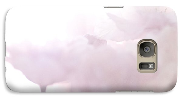 Galaxy Case featuring the photograph Pretty In Pink - The Whisper by Lisa Parrish