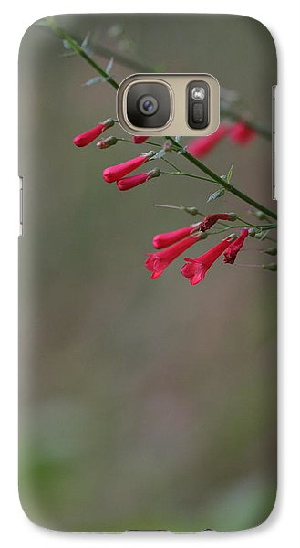 Galaxy Case featuring the photograph Pretty Little Penstemon by Ruth Jolly