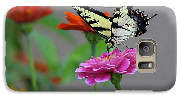 Galaxy Case featuring the photograph Pretty On Pink by Lorna Rogers Photography