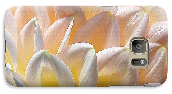 Pretty Pastel Petal Patterns Galaxy S7 Case by Kaye Menner
