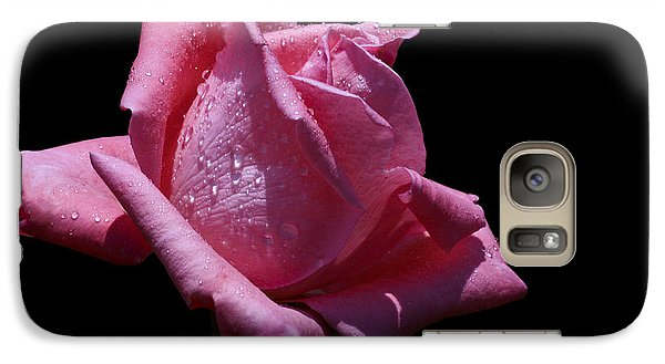 Galaxy Case featuring the photograph Pretty Pink by Doug Norkum