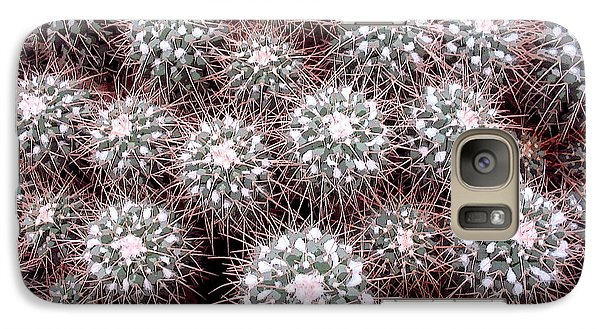 Galaxy Case featuring the photograph Prickly Business by Mary Bedy