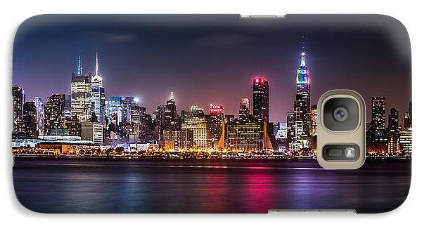 Galaxy Case featuring the photograph Pride Weekend Panorama by Mihai Andritoiu