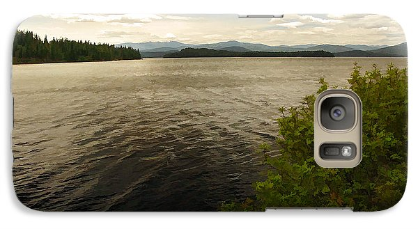 Galaxy Case featuring the digital art Priest Lake  by Sam Rosen