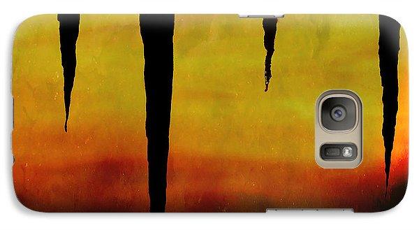Galaxy Case featuring the digital art Primal by Ken Walker