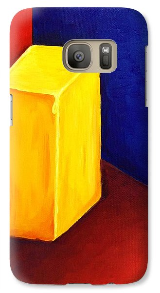 Galaxy Case featuring the painting Primary Colors by Brigitte Emme