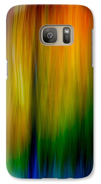 Galaxy Case featuring the photograph Primary Rainbow by Darryl Dalton