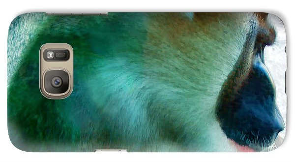 Galaxy Case featuring the photograph Primate 1 by Dawn Eshelman