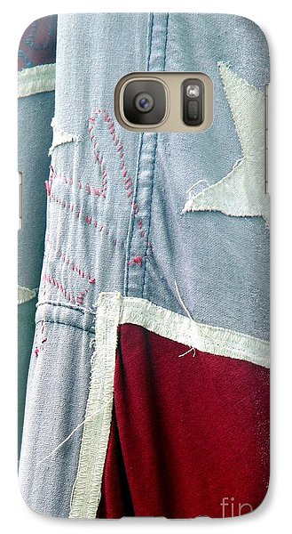 Galaxy Case featuring the photograph Primitive Flag by Valerie Reeves